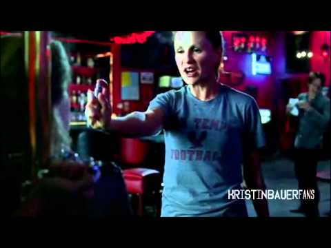 Kristin Bauer - True Blood Season 3: ''No sh*t! Auuu.'' clip