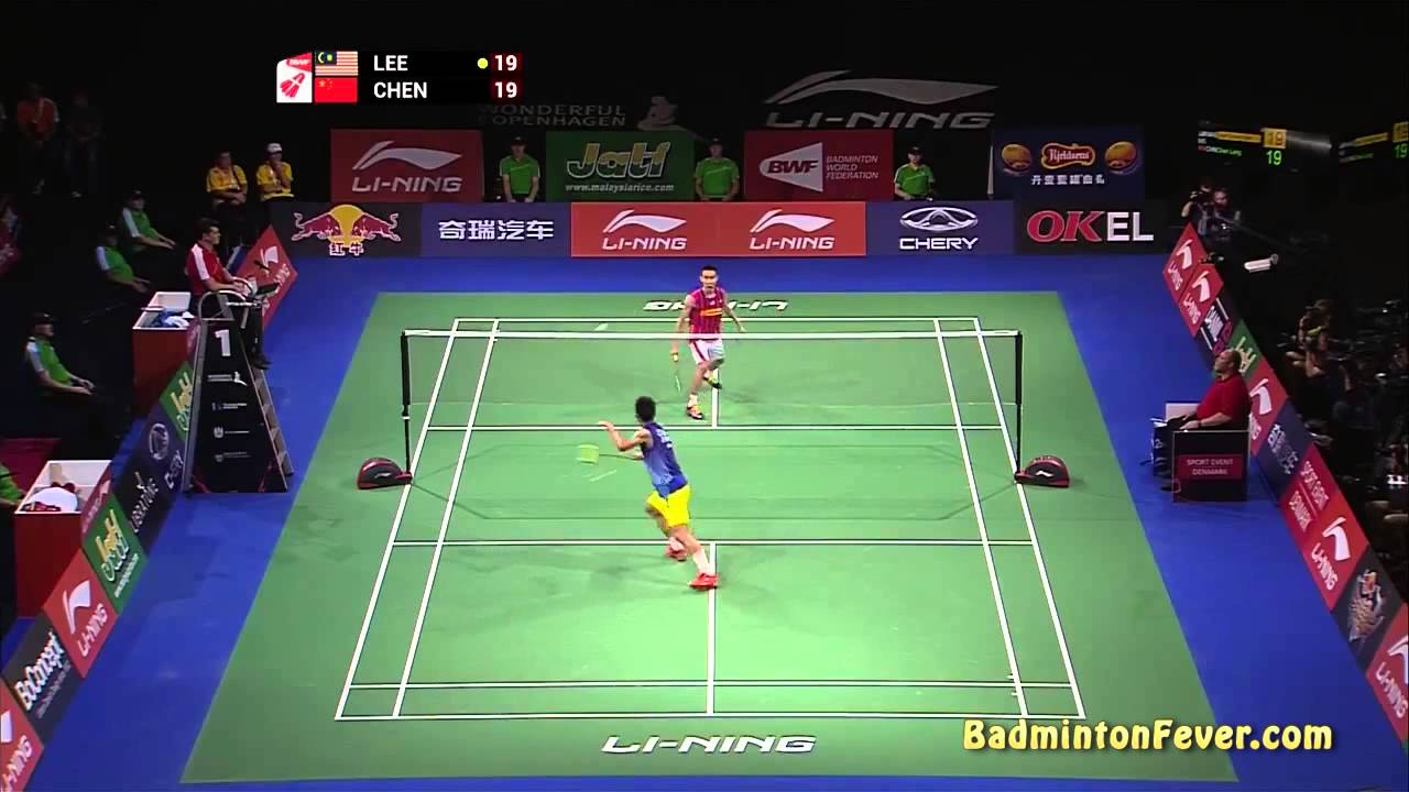 Badminton Highlights – Lee Chong Wei vs Chen Long – 2014 World Championships – MS Finals