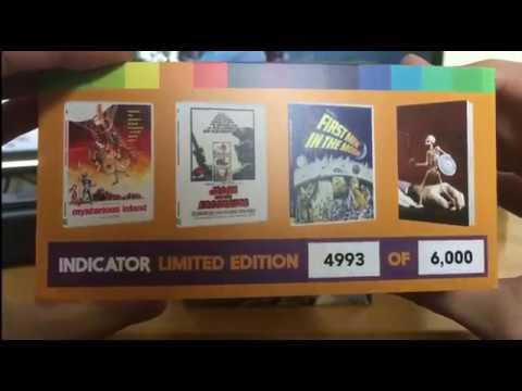 Ray harryhausen volume two (1961-1964) Blu Ray unboxing