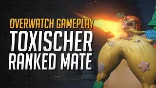 Overwatch Toxischer Ranked Mate   Sigma 15k Damage   Overwatch Gameplay • Overwatch Deutsch