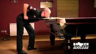 The Snooker Stance - World Snooker Coach Lessons