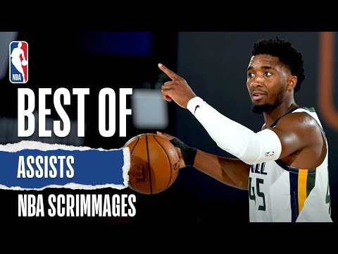 Best Of Assists | NBA Scrimmages