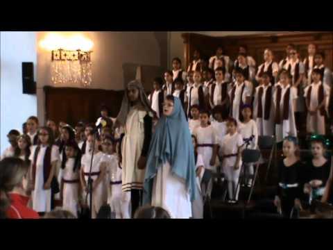 Junior Girls' Christmas Performance - Mary & Joseph's Song