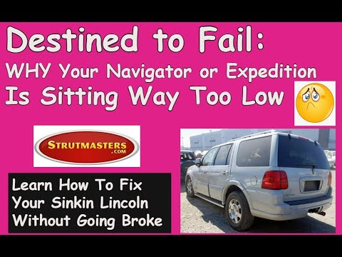 Fix Your Lincoln Navigator Air Suspension With A Strutmasters Suspension Conversion Kit