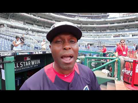 #XTRAPOINT: Torii Hunter at MLB All-Star Game