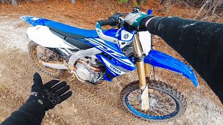 6. First EVER Ride on 450 - 2019 Yamaha YZ450F Test Ride