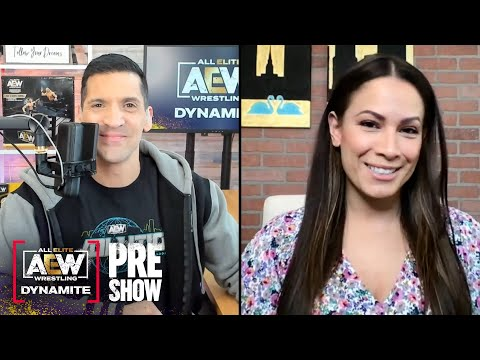 Alex & Dasha talk the signing of Paul Wight, & prepare us for tonight's episode of AEW Dynamite