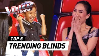Video The Voice Kids | TRENDING Blind Auditions MP3, 3GP, MP4, WEBM, AVI, FLV Februari 2018