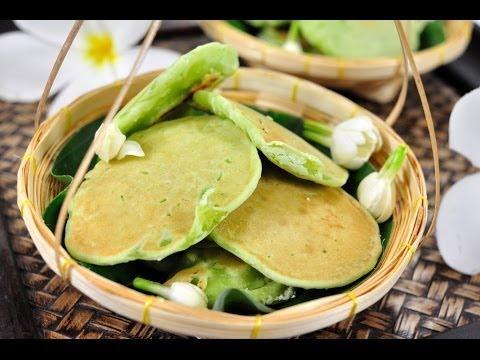 [Thai Dessert] Thai Style Coconut Cake (Khanom Bah – Bin)