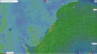 A meteorologista Josélia Pegorim explica a situação da circulação de ventos em diversos níveis da atmosfera que favorece a...