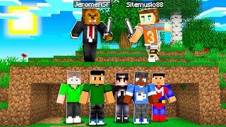 Minecraft 100 Speedrunners VS 5 Hunters