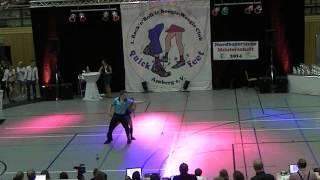 Jana Köder & Alexander Vesel - Nordbayerische Meisterschaft 2014