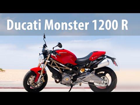 Ducati monster 1200 тест драйв снимок
