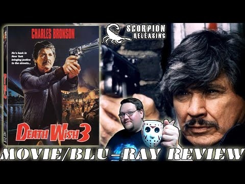 DEATH WISH 3 (1985) - Movie/Blu-ray Review (Scorpion Releasing)