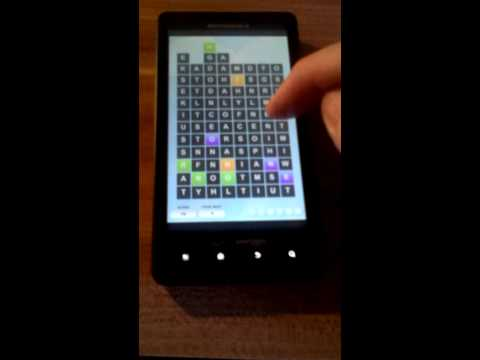 Video of Wordcraft - Free word search!