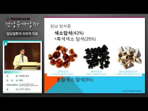 [국민건강보험 일산병원 건강강좌]담낭질환과 외과적 치료