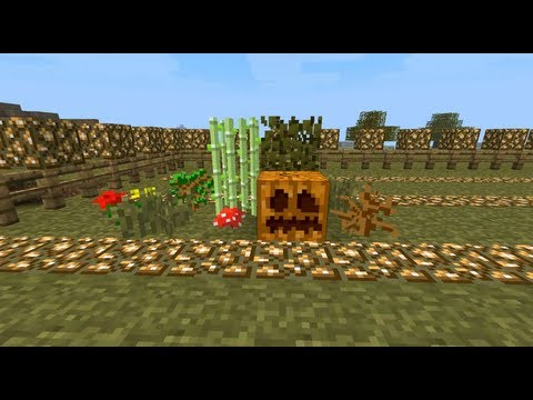 Plants Vs. Zombies In Minecraft