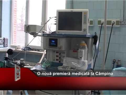 O nouă premieră medicală la Câmpina