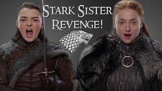 Game of Thrones Season 7 is shaping up to be a wild ride and Winds of Winter the 6th book in the ASOIAF series can't come soon enough I have brought you some Juice to get you thru the long night!!! Arya Stark and Sansa Stark have been thru so much over the last 6 Seasons but Revenge is on the menu this season and Sansa and Arya are out for blood! Who will Arya kill? Who will Sansa Kill? Whats going to go Down in the Riverlands??? Everyone is Saying Arya is going to kill Littlefinger But that just doesn't seem right to me! So Lets Talk Game of Thrones Season 7 Predictions for Arya Stark and Sansa Stark **Free Trial For Audible** Your First Audio Book is Free!!!  http://www.audibletrial.com/GrayArea** Get your Sweet summer Family Shirts and Merch here!** https://shop.spreadshirt.com/GrayArea/****Support Me on Patreon****https://www.patreon.com/grayareaFollow Me on Instagram: https://www.instagram.com/thisgrayarea/Follow Me on Twitter: https://twitter.com/ThisGrayAreaMy Last Video- Stark Week- https://www.youtube.com/playlist?list=PLb2kSmvYL-lbIOdmnQ1XpXNRtrDYrX0FyTargaryen Week - https://www.youtube.com/playlist?list=PLb2kSmvYL-lYAPbcmK7ynk9LmI85C4UzYWhy the White Walkers Returned - https://youtu.be/sw42kJSwHpo1st Trailer Breakdown - https://youtu.be/b9U3ZD6j7ts2nd Trailer Breakdown - https://youtu.be/VHs5mggMtb0Music: Artist: Ross Bugden             Link: https://youtu.be/gBOCawkv5uUSources Used! ASOIAF Novels, HBO Series Game of Thrones, A Knight of the Seven Kingdoms and A World of Ice and Fire. A Song of Ice and Fire  http://amzn.to/2kySWt4Game of Thrones Season 6 http://amzn.to/2jDf0CAA Knight of the Seven Kingdoms http://amzn.to/2ja60IZA World of Ice and Fire http://amzn.to/2kz6uJ8** Links with (**) are sponsored/affilate links which means, if you use those links to purchase a product I am compensated. However, I will never recommend you anything that I would NOT buy myself or that I do not currently own. Your Support is much appreciated!