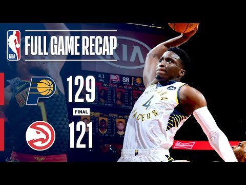 Video: FULL GAME RECAP: PACERS VS HAWKS | 8 PACERS SCORE IN DOUBLE FIGURES