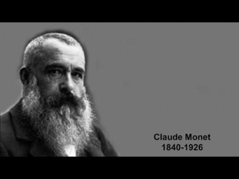 Le Destin 11 - Claude Monet 1840-1926 Un peintre français de l'impressionnisme.
