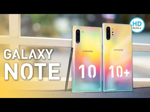 Samsung GALAXY NOTE 10 e NOTE 10 Plus: prezzo, specifiche e confronto | ANTEPRIMA