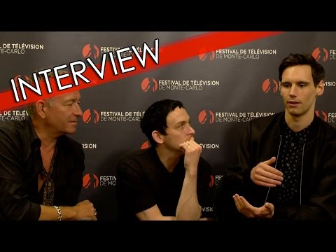 ITW Sean Pertwee / Robin Lord Taylor / Cory Michael Smith (Gotham) | FTV16