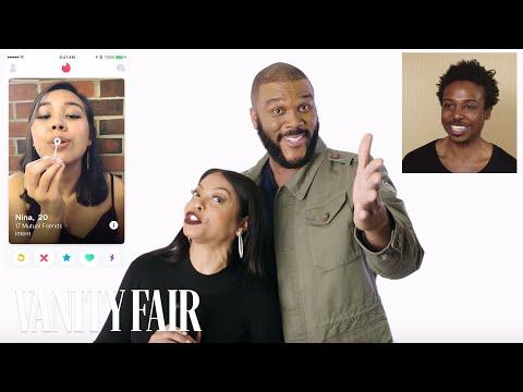 Taraji P. Henson and Tyler Perry Hijack a Stranger's Tinder | Vanity Fair