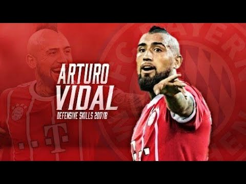 Arturo Vidal 2018 • Arturo Vidal El Exterminador • Crazy Defensive Skills & Goals 2017/18 - HD
