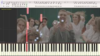 Мало так мало - Егор Крид (Ноты и Видеоурок для фортепиано) (piano cover)