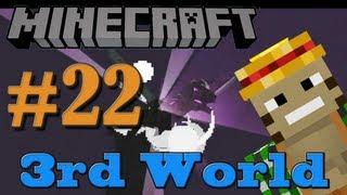 EnderDragon Fight - Minecraft 3rd World LP #22