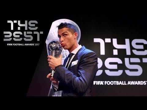 C羅擊敗梅西  蟬聯FIFA最佳男子球員獎[影]