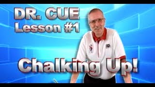 APA Dr. Cue Instruction - Pool Lesson 1: Chalking Up!!