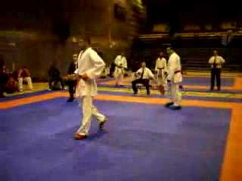 Rory Daniels – Commonwealth Karate Open 2008