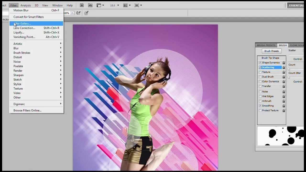 How To Design A Poster Using Photoshop Cs5