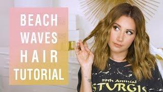 Beach Waves Hair Tutorial  <b>Ashley Tisdale</b>