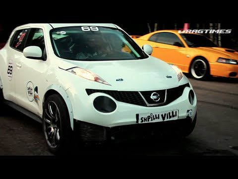 srt - Unlim 500+ (September 2012), all result: http://www.dragtimes.ru/results/races/1232 1) #69, Vladimir U. — Nissan Juke R SVE Stage 2 (2012, 750 HP) — 27.158 s...