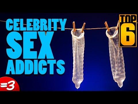 Top 6 Celebrity Sex Addicts