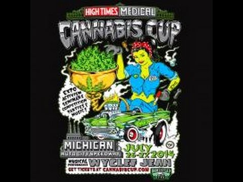 VIDEO- Wyclef Jean at the High Times Medical Cannabis Cup