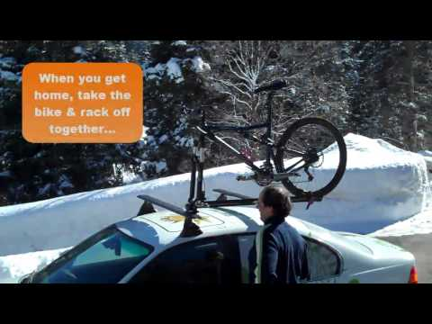 0 Bike Rack Attachment Demo