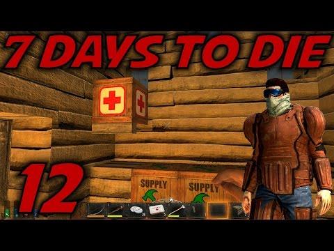 "7 Days to Die Alpha 12 Gameplay / Let's Play (S-12) -Ep. 12- ""Storage & Crafting Timer Debates"""