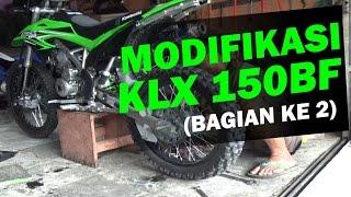 Download Video Modifikasi Kawasaki KLX 150BF Adventure, Trail, Enduro (bagian 2) MP3 3GP MP4