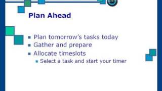Time Management YouTube video