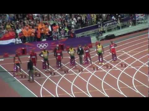 Usain Bolt medalla de oro en Londres 2012