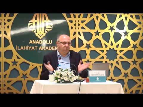 Prof. Dr. Mehmet Evkuran ile ''Kur'an Mesajının Anlaşılmasında ve Dönüştürülmesinde Kelam Tartışmalarının Rolü'' konulu konferans