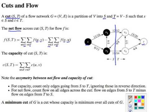 Topic 20 A Maximum Flow Intro