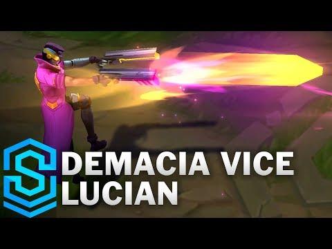 Lucian Dân Chơi Demacia - Demacia Vice Lucian