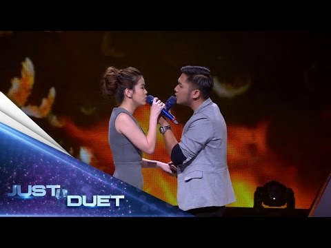 Romantic Performance By Melisa & Adhi Singing Agnezmo's Cinta Mati - Duel Duet - Just Duet