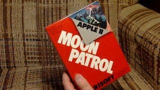 LGR - Moon Patrol Apple II Game Unboxing
