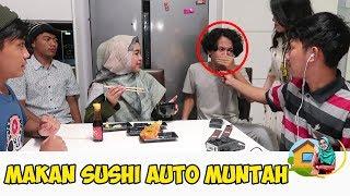 Video CHALLENGE MAKAN SUSHI SAMPAI MUNTAH. Auto Pakein Lipstik Sama Indy😅 MP3, 3GP, MP4, WEBM, AVI, FLV Juli 2019